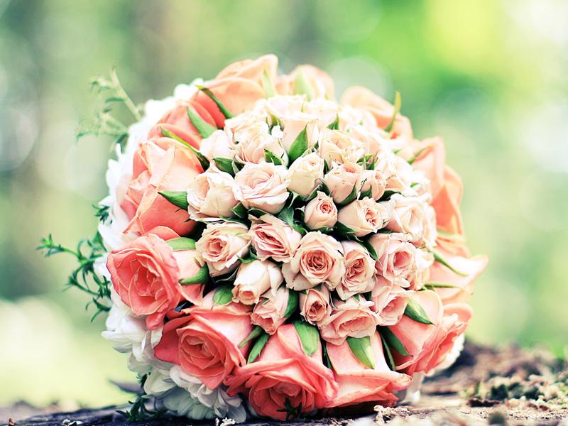 Wedding Hand Bouquet Flowers 05
