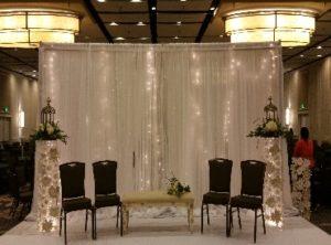 Wedding Pipe and Drape - Bridal Veil Ceremony 04