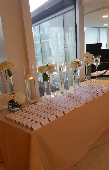 Wedding Center Pieces Flowers Glass Vases 02