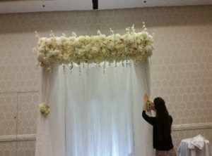Wedding Pipe and Drape - Bridal Veil Ceremony 04