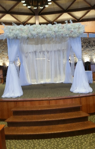 Wedding Pipe and Drape - Bridal Canopy 06