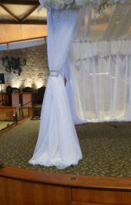 Wedding Bridal Canopy Flower Decorations 02