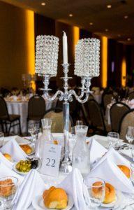 Wedding Center Piece Crystal 01