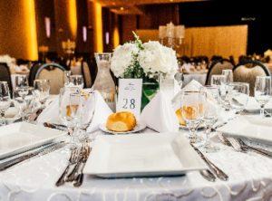 Wedding Table Center Piece - Set Table 01