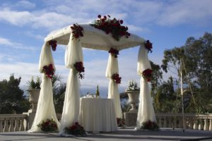 Wedding Pipe and Drape Bridal Canopy 02