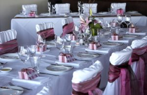 Wedding Decorations - Wedding Chair Wraps - Wedding Table Cloths 04