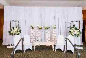 Wedding Pipe and Drape - Bridal Veil Ceremony 07