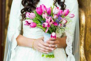 Wedding Bride Hand Bouquet Flowers 01