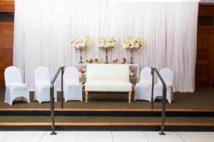 Wedding Pipe and Drape - Bridal Veil Ceremony 02